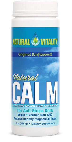 our #1 supplement for stress relief natural calm intouch chiropractic san diego nucca upper cervical care chiropractic